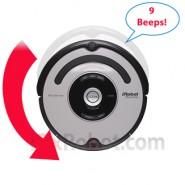 9 Beeps -  Circle Dance Repair - 2 Sensors-  Roomba 500 Series